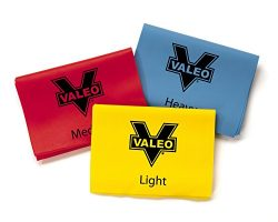 Valeo 4-Foot Long Stretch Exercise Resistance Bands, Pack of 3, Color Coded For Light, Medium, A ...