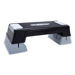 "Costway 29"" Aerobic Fitness Stepper Platform Adjust 5″ – 7″ – 9″ E ..."