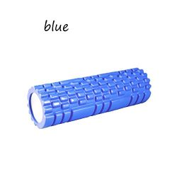 Oceaneshop Pressure Resistance Hollow Relax Muscles Gym Equipment EVA Pilates Foam Yoga Roller M ...