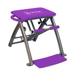 Life's A Beach Purple Pilates Pro Chair and DVDs