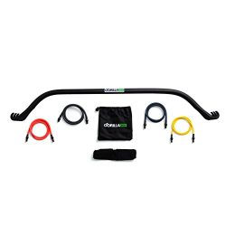 Gorilla Bow Home Gym Resistance Training Kit – Full Body Workouts – Adjustable Bands ...