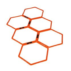 Hexagonal Hex Speed Rings, Agility Rings for Fitness Training by EFITMENT – A009