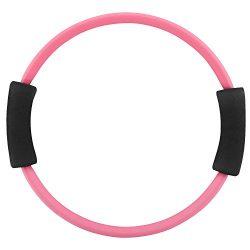 MoKo Pilates Ring, Premium Power Resistance Full Body Toning Fitness Rings Magic Circle Workout  ...