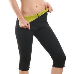 LYTOPTOP Women's Hot Sweat Slimming Neoprene Vest/Pants Body Shaper for Weight Loss, Thigh ...