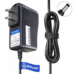 T POWER 6.6 ft Long Ac Dc Adapter Charger for Life Fitness X1 X 3 X5 X 8 GO Console Fitness Gear ...