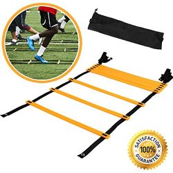 Agility Ladder For Speed Training and Explosive Training – Soccer Training, Football Train ...