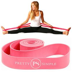 PREMIUM EXERCISE PS Athletic Ballet Stretch Band For Dance, Gymnastics, Cheerleading, Pilates. I ...