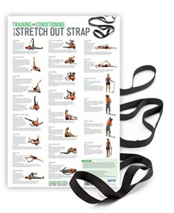 The Original Stretch Out Strap XL with Exercise Poster by OPTP – Top Choice of Physical Therapis ...