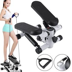 OUTAD Upgraded Air Stepper Climber with Bands and LCD Display for Home Workout Gym -As Seen On T ...