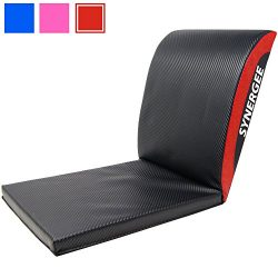 iheartsynergee Rogue Red Core Ab Mat Abdominal Mat Sit-Up Pad with Tail Bone Pad – Abdomin ...