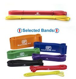 Garage Fit Pull up Assist Bands – Resistance Bands, Pull up Bands, Mobility Bands for Cros ...