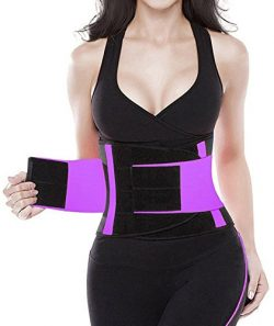 YIANNA Waist Trimmer Belt Fat Burner Low Waist Back support Adjustable Abdominal Trainer Body Ho ...