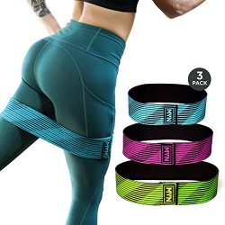 MVN Hip Resistance Band – Exercise Hip Circle Bands for Legs and Butt Workouts, Non Slip D ...