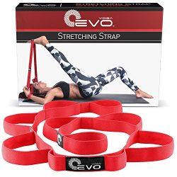Yoga EVO Stretch Out Strap – Leg Stretcher Strap