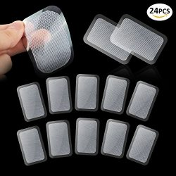 GKCI 24 PCS Abs Trainer Replacement Gel Sheet for Muscle Abdominal Ab Trainer Stimulator Gel Pad ...