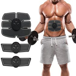 Mousand ABS Stimulator Ab Ultimate Abdominal Muscle Toner Electric Trainer Exercise Monavy Machi ...