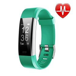 LETSCOM Fitness Tracker HR, Activity Tracker Heart Rate Monitor Watch, IP67 Waterproof Smart Wri ...