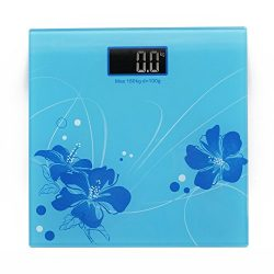 Digital Bathroom Weighing Scale Machine With Step on Technology For Accurate, High Precision Bod ...