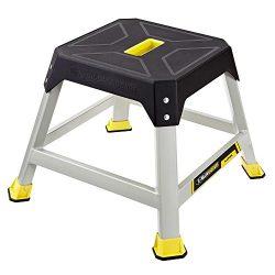 Gorilla Ladders 16 in. Height Slip-Resistant Steel Platform Step with 300 lb. Load Capacity