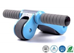 JoP Portable Abdominal Roller Simple Assembly Foldable Abs Roller, Core Muscle Toning Home/Gym/T ...