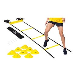 4 OCEANS-FAMILY Agility Ladder Speed Training Equipment