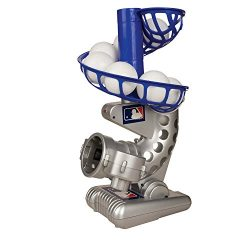 Franklin Sports MLB Electronic Baseball Pitching Machine – Includes Six Plastic Baseballs