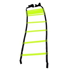 GSI Speed Agility Ladder Track and Field Equipment for Sports Training and Soccer Football Tenni ...
