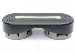"""Sports God 28"""" Aerobic Exercise Stepper Platform Adjust 5″ – 6″ – 7̸ ..."""