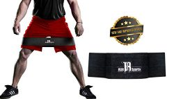 RIMSports Premium Hip Resistance Bands Ideal Hip Band Heavy & Light Users For Squat Exercise ...