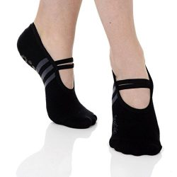 Great Soles Women's Ballet Sock , Black/Grey, One Size – comfortably fits women shoe ...