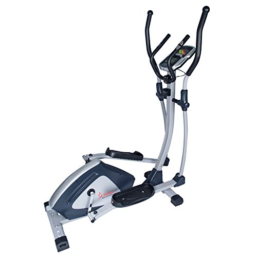 Sunny Health & Fitness SF-E3804 Magnetic Elliptical Trainer Elliptical Machine w/LCD Monitor ...