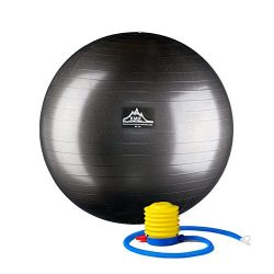 Black Mountain Products Professional Grade Stability Ball, Black, 45cm