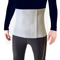 Most Comfortable Abdominal Binder, Additional Plush Foam Panel Added for Pleasant Wear, Post Pre ...