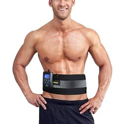 DOMAS Ab Belt Abs Stimulator Electronic Muscle Stimulator Toning Belt for Men and Women