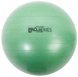 Thera-Band Exercise Ball, Green 65 cm (26) – For height 5′ 7 – 6′ 1 by T ...