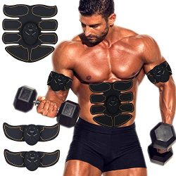 Abs Stimulator Muscle Trainer Ultimate Abs Stimulator Ab Stimulator for Men Women Abdominal Work ...