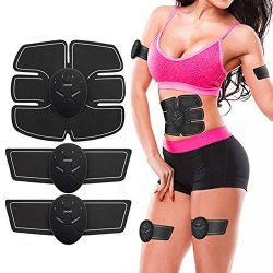 Abdominal Toning Belts – Ehonestbuy Electrical Muscle Strengthening System Wireless Ab Tra ...