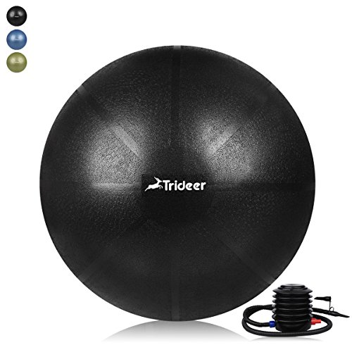 trideer exercise ball 45 85cm extra thick yoga ball chair anti
