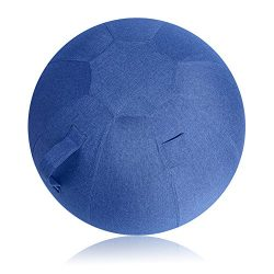 Neustern Balance Ball Cover -Sitting Ball Chair Cover for Yoga, Office, Pilates, Birthing Ball P ...