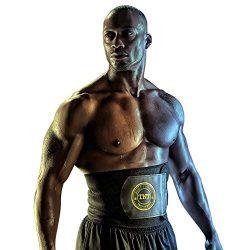 TNT Pro Series Waist Trimmer Weight Loss Ab Belt – Premium Stomach Fat Burner Sweat Wrap a ...