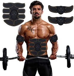 SPORTMAO Abs Stimulator Ultimate Abs Stimulator Ab Stimulator Abs Stimulator Men Toning Belt EMS ...