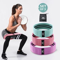 Resistance Bands Loop Exercise Bands Booty Bands Workout Bands Hip Bands Wide Resistance Bands F ...