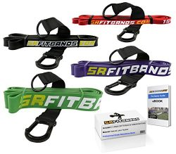 Resistance Band | Exercise Band | Fitness band: featuring the SR fit band attachment loop | Sing ...