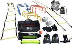 Sports Exercise & Fitness Equipment Speed & Agility Training Kit Combo Set
