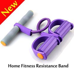 V-Resourcing 022 Pedal Resistance Band Elastic Pull Rope Fitness Equipment,Bodybuilding Expander ...