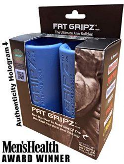 "Fat Gripz – The Ultimate Arm Builder (2.25"" Diameter, Most Popular, Original, Blue)"