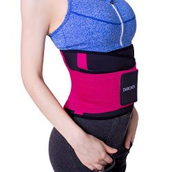 DARCHEN Waist Trainer Belt for Women Fitness Weight Loss Wokout Exercise Belt Sport Girdle for B ...