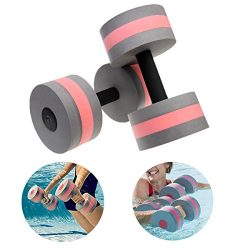 Zerlar Aquatic Exercise Dumbells On Pool Exercises For Water Aerobics Training Fitness Exercises ...