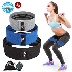 Resistance Bands Hip Exercise Bands Booty Bands Workout Bands-Cotton Fitness Loop Hip Circle Exe ...