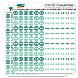 Dumbbell Exercise Weight Lifting Loss Workout Dots Planner Scrapbooking Crafting Stickers &#8211 ...